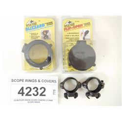 SCOPE RINGS & COVERS