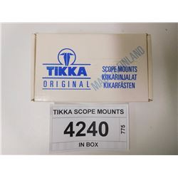 TIKKA SCOPE MOUNTS