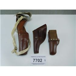 ASSORTED LEATHER HOLSTER