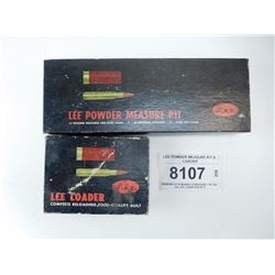 LEE POWDER MEASURE KIT & LOADER