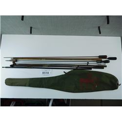 RIFLE CASE WITH CLEANING RODS