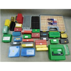 ASSORTED CONTAINERS & CASES