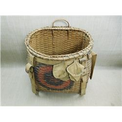 ANTIQUE TRAPPERS BASKET