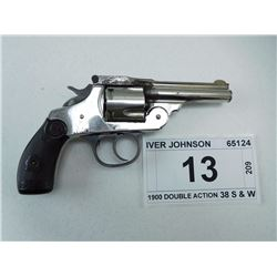 IVER JOHNSON , MODEL: 1900 DOUBLE ACTION , CALIBER: 38 S & W