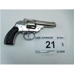 IVER JOHNSON , MODEL: SAFETY HAMMERLESS AUTOMATIC 2ND MODEL , CALIBER: 32 S&W