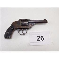 IVER JOHNSON , MODEL: SAFETY HAMMERLESS , CALIBER: 38 S&W