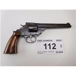 IVER JOHNSON , MODEL: SAFETY HAMMER AUTOMATIC 3RD MODEL , CALIBER: 38 S&W