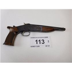 HARRINGTON & RICHARDSON , MODEL: HANDY GUN , CALIBER: 28 GA