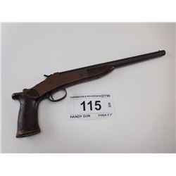 HARRINGTON & RICHARDSON , MODEL: HANDY GUN , CALIBER: 410GA X 3""
