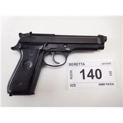 BERETTA , MODEL: 92S , CALIBER: 9MM PARA