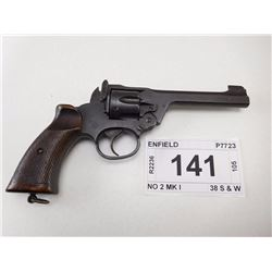 ENFIELD , MODEL: NO 2 MK I TANKER , CALIBER: 38 S & W