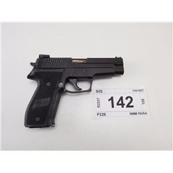 SIG , MODEL: P226 , CALIBER: 9MM PARA