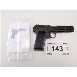 TOKAREV , MODEL: TTC , CALIBER: 7.62 X 25