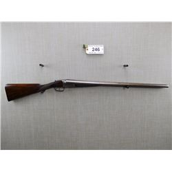 WESTLEY RICHARDS , MODEL: SIDE BY SIDE SHOTGUN , CALIBER: 12GA X 2 1/2