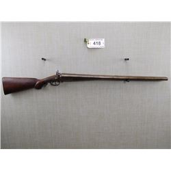 MOORE COMPANY  , MODEL: UNDER LEVER BREAK ACTION SIDE BY SIDE DOUBLE HAMMER , CALIBER: 10 BORE
