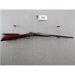 WINCHESTER , MODEL: 1885 LOW WALL , CALIBER: 22 SHORT