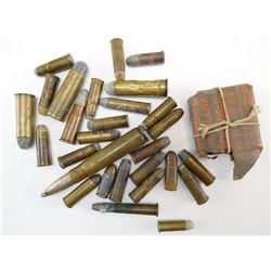 ASSORTED MILITARY/ANTIQUE AMMO