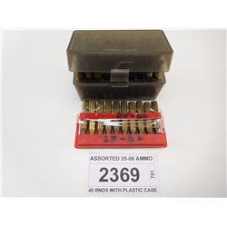 ASSORTED 25-06 AMMO