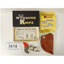 WYOMING BIG GAME KNIFE