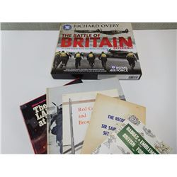ASSORTED BRITISH MILITARY BOOKS