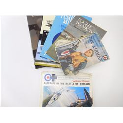ASSORTED MILITARY AIRCRAFT BOOKS