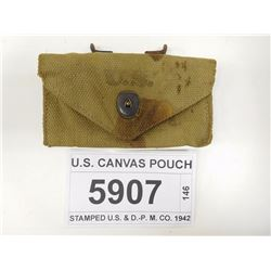 U.S. CANVAS POUCH