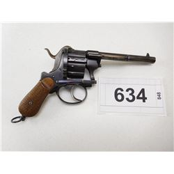 A FRANCOTTE , MODEL: DOUBLE ACTION HANDGUN , CALIBER: 7.5MM?