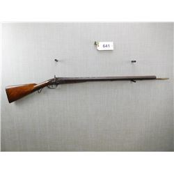 D. ANDREWS , MODEL: SIDE BY SIDE PERCUSSION , CALIBER: 16 BORE
