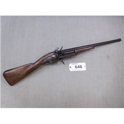 UNKNOWN , MODEL: REVOLVING MUSKET , CALIBER: 50 CAL