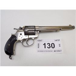 COLT , MODEL: 1878 DOUBLE ACTION FRONTIER , CALIBER: 45 COLT