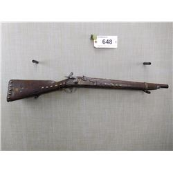SPRINGIELD , MODEL: PERCUSSION INDIAN TRADE GUN , CALIBER: 56 CAL