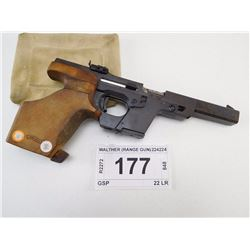 WALTHER , MODEL: GSP , CALIBER: 22 LR
