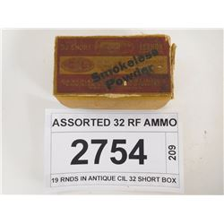 ASSORTED 32 RF AMMO