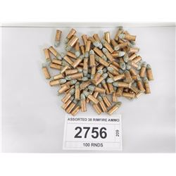 ASSORTED 38 RIMFIRE AMMO