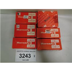 ASSORTED HORNADY BULLETS
