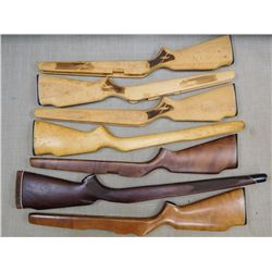ASSORTED LOT OF RIFLE STOCKS