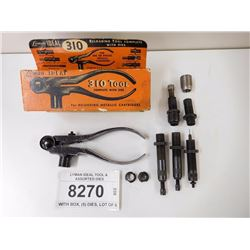 LYMAN IDEAL TOOL & ASSORTED DIES