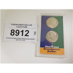 EISENHOWER DOLLAR COLECTION