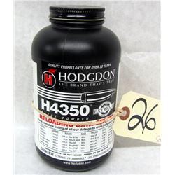 HODGDON H4350 GUNPOWDER
