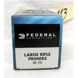 1000 FEDERAL LARGE RIFLE PRIMERS