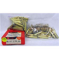 HORNADY 300 RUM DIES AND PRIMED BRASS