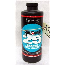 ALLIANT RELODER 25 POWDER