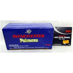 WINCHESTER AND CCI PRIMERS