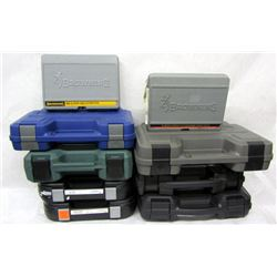 BOX LOT PISTOL CASES