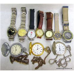 BOX LOT WATCHES