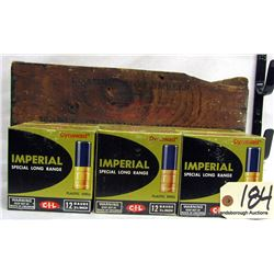 "IMPERIAL SPECIAL LONG RANGE 12GA 2 3/4"" AMMUNITION"