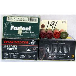 BOX LOT 12GA 2 3/4 AMMUNITION