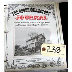 THE RUGER COLLECTORS JOURNAL