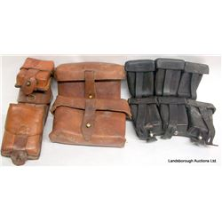 LEATHER AMMO POUCHES