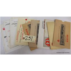 BOX LOT RUGER COLLECTABLES